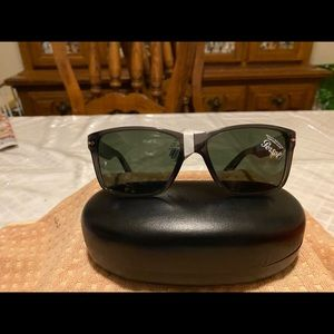 Persol Gray Squared Sunglasses NWT